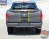 Rear view of 2017 Ford F150 Center Decals BORDERLINE 2015 2016 2017