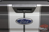 Rear View of 2017 Ford F150 Rally Stripes F-RALLY KIT 2015-2017