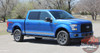 Side view of Ford F150 Side Stripes 15 150 ROCKER 2 2015-2019 2020