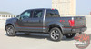 Rear view of 2019 F150 Side Graphics SIDELINE 2015-2018 2019 2020