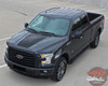 View of 2018 Ford F 150 Hood Decals ROUTE HOOD 2015-2019 2020