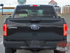 Rear view 2016 Ford F150 Tailgate Decal ROUTE TAILGATE 2015-2020