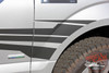 Close Side View of 2018 Ford F150 Graphics Package APOLLO 2015-2019 2020
