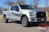 Side Profile View of 2018 Ford F150 Graphics Package APOLLO 2015-2019 2020