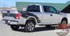 Passenger side rear view of 2018 Ford Truck Stripes TORN 2015-2018 2019 2020