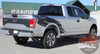 Passenger side rear view of 2017 Ford F150 Graphics Package TORN 2015 2016-2018 2019 2020
