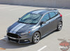 Ford Focus ST Stripes TARGET FOCUS RALLY 2015 2016 2017 2018 2019