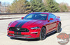 Profile View of 2019 Ford Mustang Rally Stripes STAGE RALLY 2018-2019