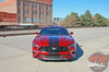 View of STAGE RALLY | 2018 Ford Mustang Stripes Racing Matte Black