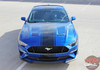 2019 2018 Ford Mustang Convertible Center Graphics HYPER RALLY