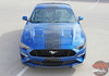 HYPER RALLY   2018 Ford Mustang Center Graphics Stripes