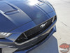 Front view of 2018-2019 Ford Mustang Convertible Racing Stripe EURO RALLY