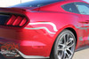 View of Ford Mustang Side Horse Decals STEED 2015 2016 2017 2018