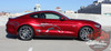Side of Ford Mustang Side Horse Decals STEED 2015 2016 2017 2018