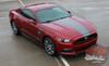 STELLAR   Ford Mustang GT Matte Black Stripes 2015-2017