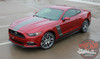 Ford Mustang Side and Hood Stripes STELLAR 2015 2016 2017