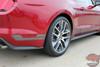 Profile view of Ford Mustang Door Decals HASTE 2015 2016 2017 2018