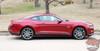 Profile view of Ford Mustang Rocker Panel Door Side Stripes HASTE 2015 2016 2017 2018