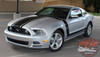 Front Side and 2013 Ford Mustang Side Hood Stripes PRIME 1 2013-2014