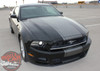 View of 2013-2014 Ford Mustang Center Wide Stripes VENOM KIT