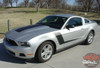 View of 2010 Mustang Racing Stripes LAUNCH 3M 2010 2011 2012