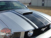 Hood of 2007 Mustang GT Racing Stripes FASTBACK 2 2005-2008 2009