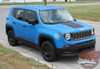 Side View of 2019 Jeep Renegade Decals RENEGADE HOOD 2014-2020