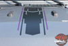 Hood View of 2019 Jeep Wrangler Graphics MOJAVE and ACCENTS 2018-2020