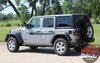 Side View of 2017 Jeep Wrangler Graphics BYPASS and ACCENTS 2018-2020 2021