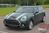 Front of 2016-2020 Mini Cooper Hood Stripes  CLUBMAN 16 HOOD 2016-2020 | COUNTRYMAN HOOD 2010-2016 | S-TYPE 2006-2016