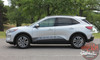 Profile View of NEW DESIGN! Ford Escape Stripes DEPART ROCKER 2020-2021