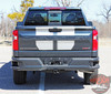Rear close up of NEW Trail Boss style Chevy Silverado Stripes BOW RALLY 2019-2021