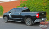 Side of 2020 Toyota Tundra Side Door Stripes TEMPEST 2015-2021