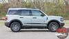 2021 2022 Ford Bronco Sport Lower Body Door Decals BREAK Stripes Vinyl Graphics Kit