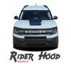 2021 2022 Ford Bronco Sport Hood Decals RIDER HOOD Stripes Vinyl Graphics Kit