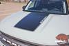 2021-up Bronco Sport Hood Blackout Decal Graphics Vinyl Stripes