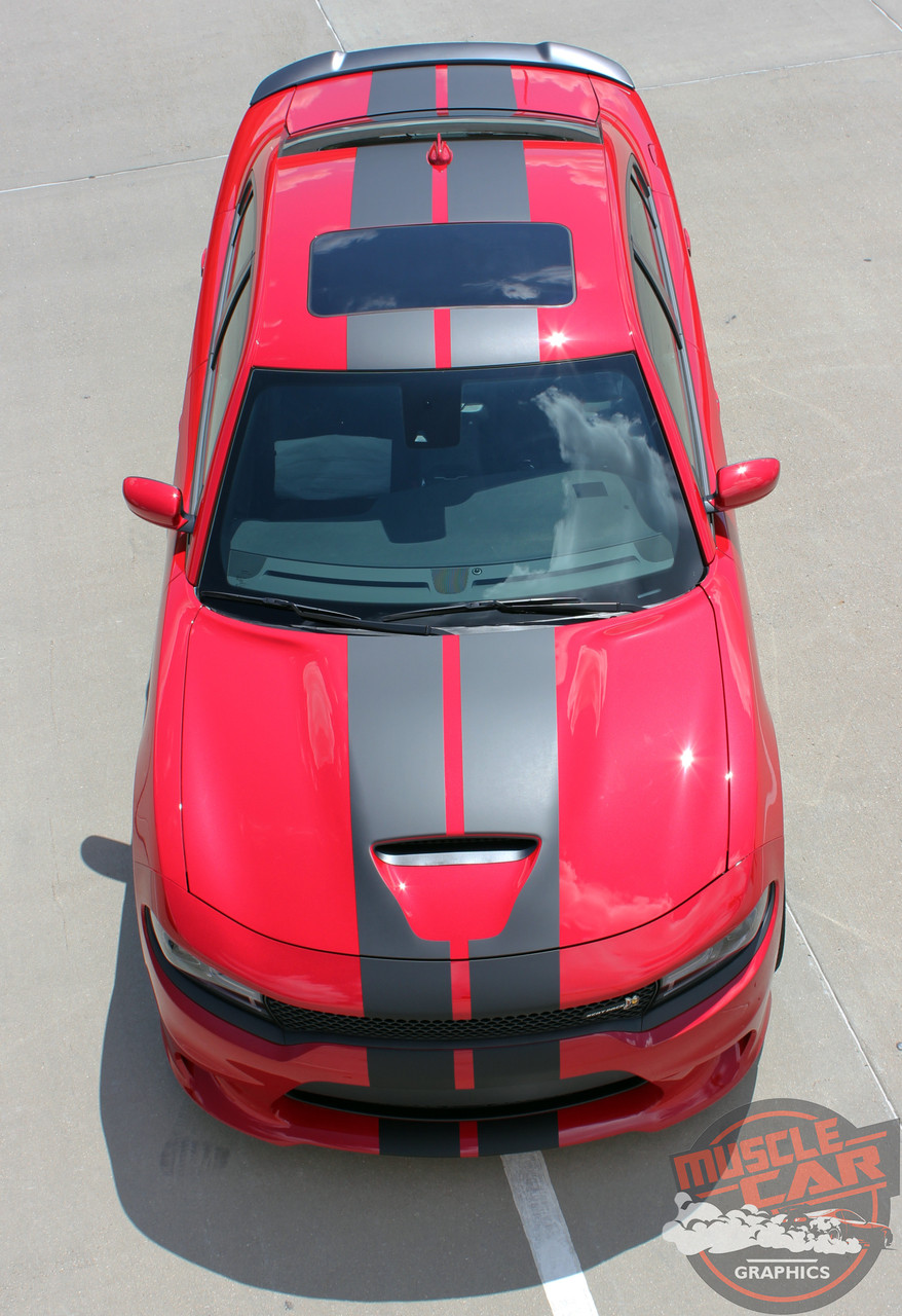 N Charge Rally S Pack Dodge Charger Racing Stripes Charger Decals Hemi Vinyl Graphics