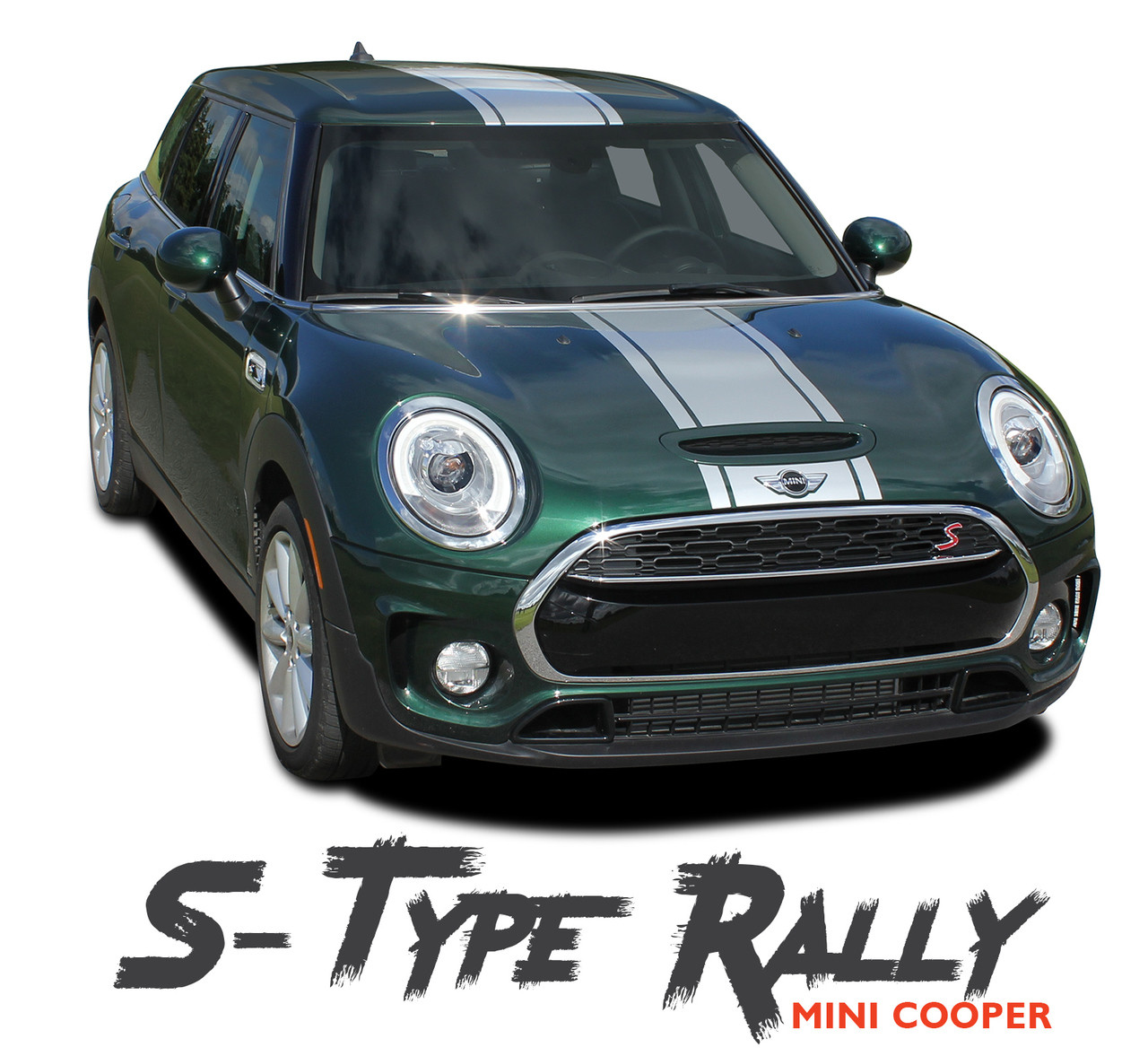 Mini Cooper Hood Stripes Vinyl Graphics Decals S Type Rally 2016 2018