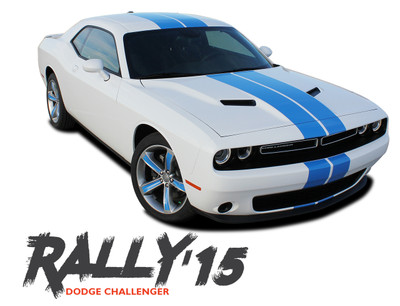 2015-2020 Dodge Challenger Stripes, Dodge Challenger Decals
