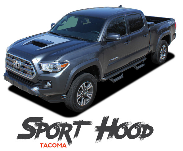 Toyota Tacoma TRD SPORT HOOD Air Intake Wrap Accent Vinyl Graphic Striping Decal Kit for 2015 2016 2017 2018 2019 2020