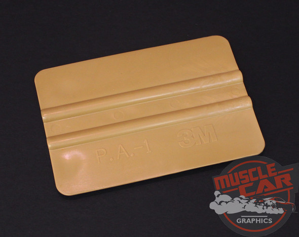 3M Gold Squeegee for Vinyl Graphics and Stripe Installation Tool