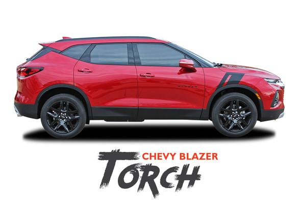 Chevy Blazer TORCH Side Fender Hood Vinyl Graphics Decals Stripes Kit 2019 2020