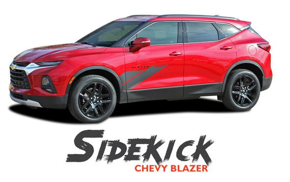 Chevy Blazer SIDEKICK Side Door Stripes Body Vinyl Graphics Decals Kit 2019 2020