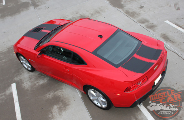 Super Sport Camaro Racing Stripes S-SPORT PACKAGE 2014-2015