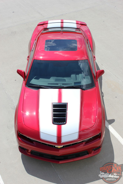 Chevy Camaro SS Racing Stripes S-SPORT PACKAGE 2014-2015