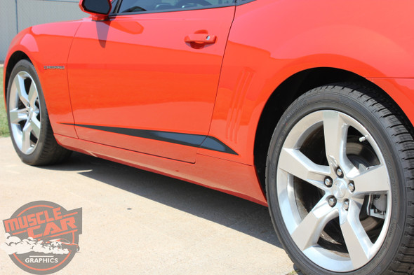 Chevrolet Camaro Decals ROCKER SPIKES 2009-2015