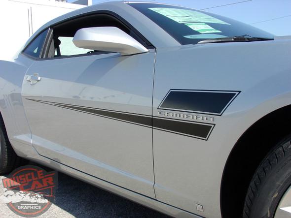 Door Vinyl Graphics for Chevy Camaro SHAKEDOWN 2009-2015