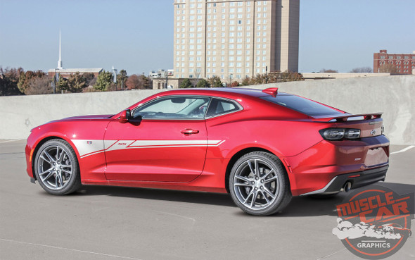 2019 Chevy Camaro Side Door Stripes BACKLASH 2019-2020