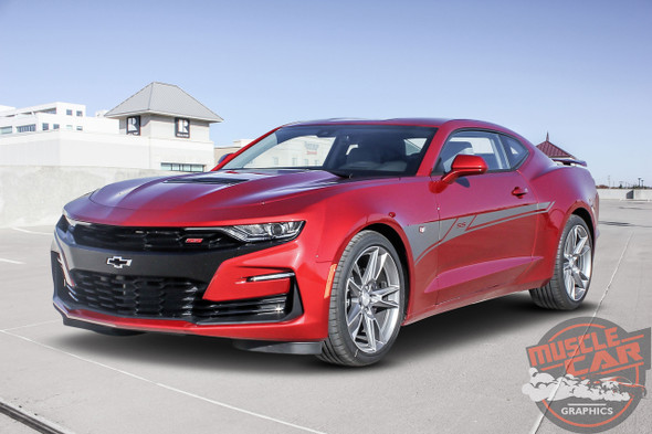 2020-2019 Chevy Camaro Side Door Decals BACKLASH 3M