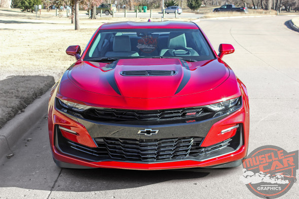2019 Camaro Hood Decals WIDOW HOOD STRIPES 2019-2020